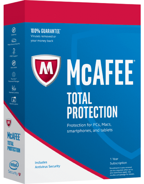 Mcafee Total Protection Antivirus